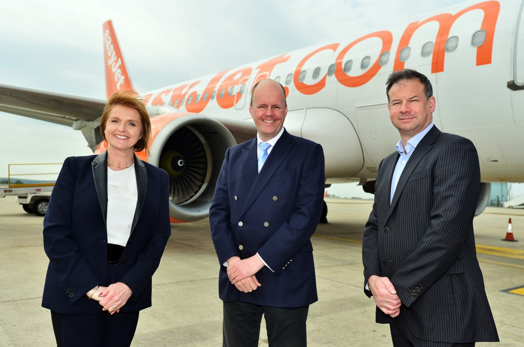 Boost to region's economy expected as easyJet launches new flights from Bristol Airport