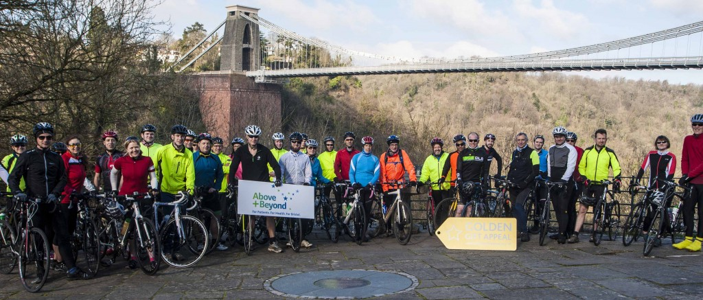 Training hard to go above and beyond – and to Paris – for Bristol's Golden Gift Appeal
