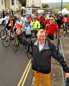And they're off! Golden Gift Appeal 'pedal for patients' cyclists get en route to Paris