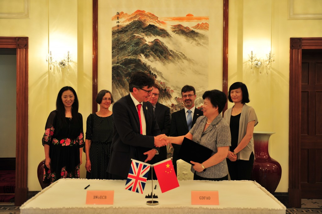 New agreement with key Chinese economic hub opens doors for partnerships with Bristol firms