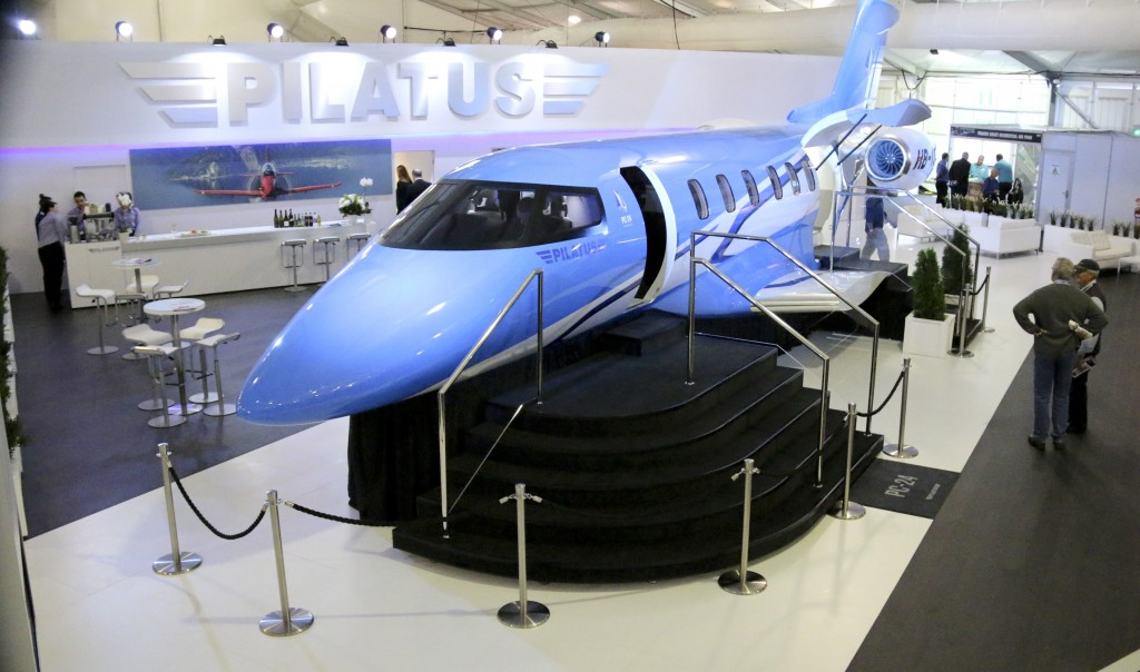 Event firm Ignition fires up airshow visitors by 'landing' business jet on client's exhibition stand