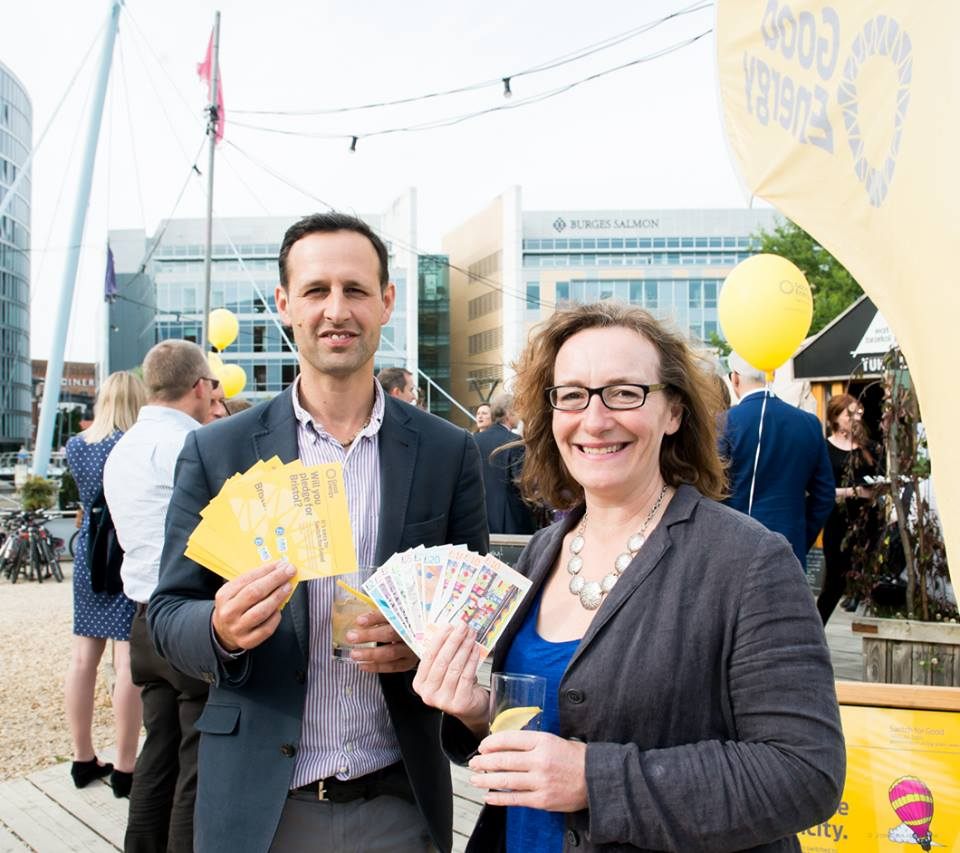 World's first as Bristol Pound forms powerful partnership with Good Energy