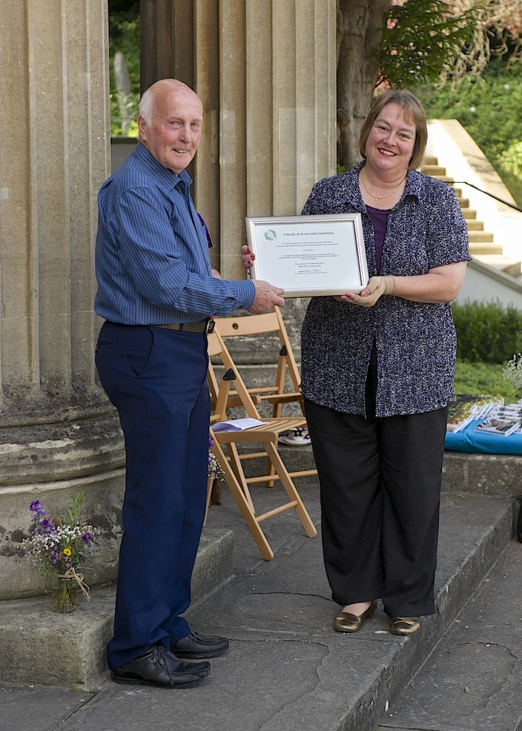 Royal honour recognises tireless work of Friends of Arnos Vale Cemetery