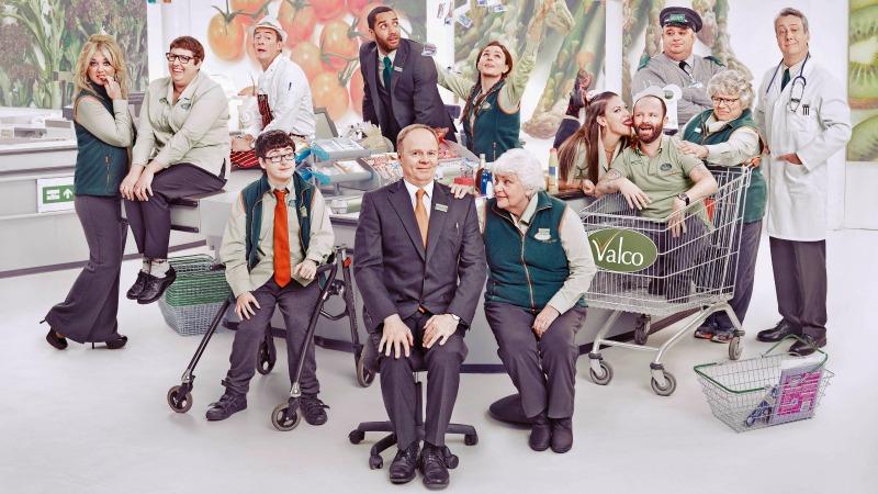 Fifth series of supermarket comedy Trollied in store as it returns to Bristol's Bottle Yard Studios
