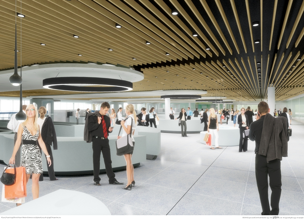 £24m extension planned at Bristol Airport to handle security checks on soaring passenger numbers