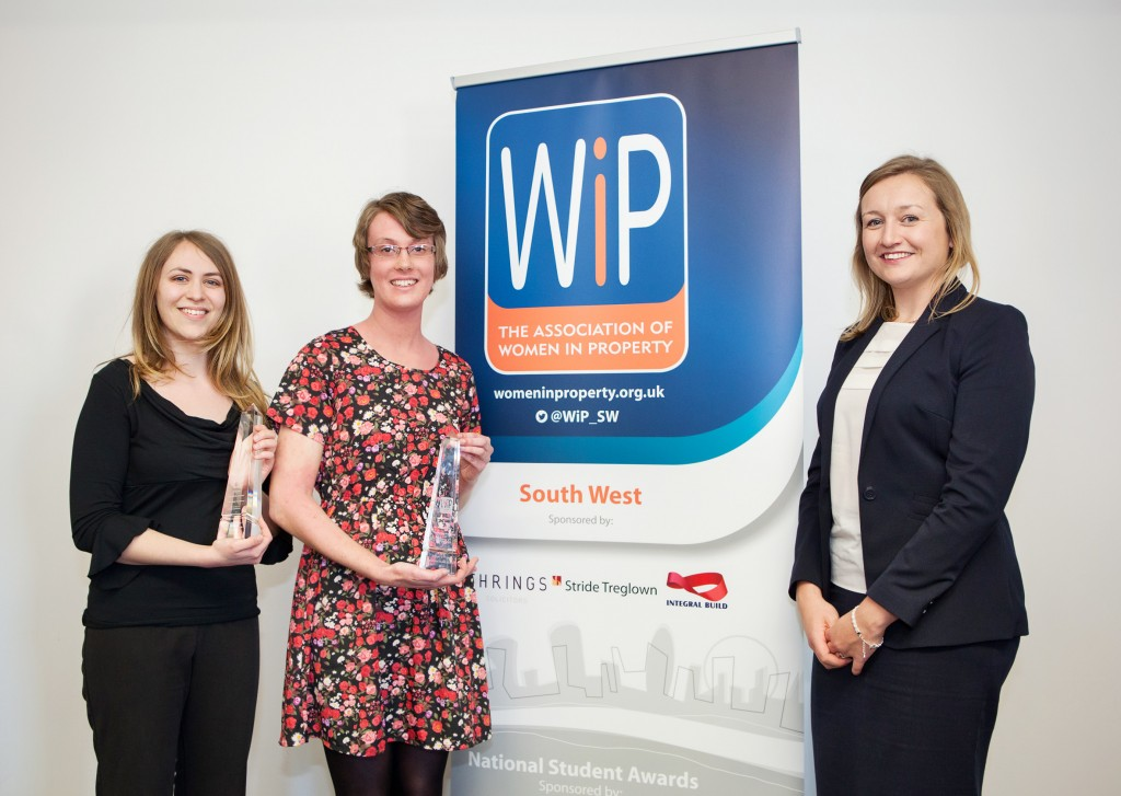 Students in the running for national Women in Property awards after winning regional heat