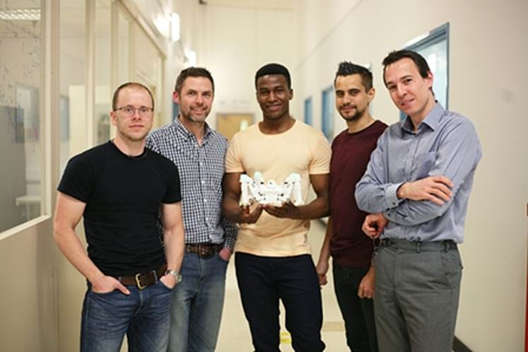 Bristol robotics pioneers Reach head to the US for expert help in taking their innovation to market
