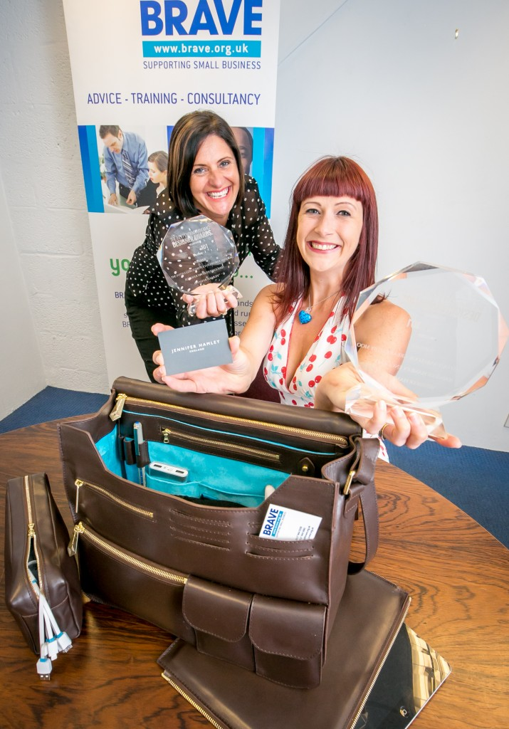 Innovative designer bags top fashion award within months of starting up in business