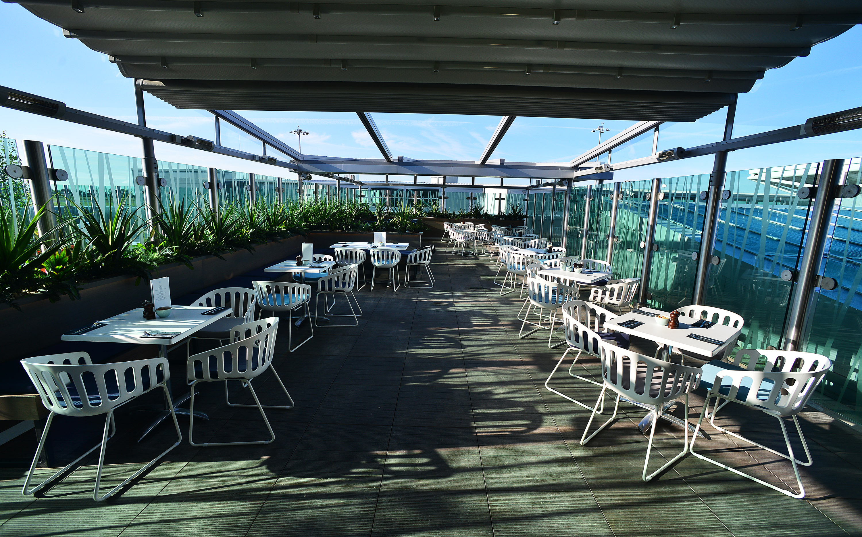 New Departure Lounge And Terrace Opened At Bristol Airport As Its