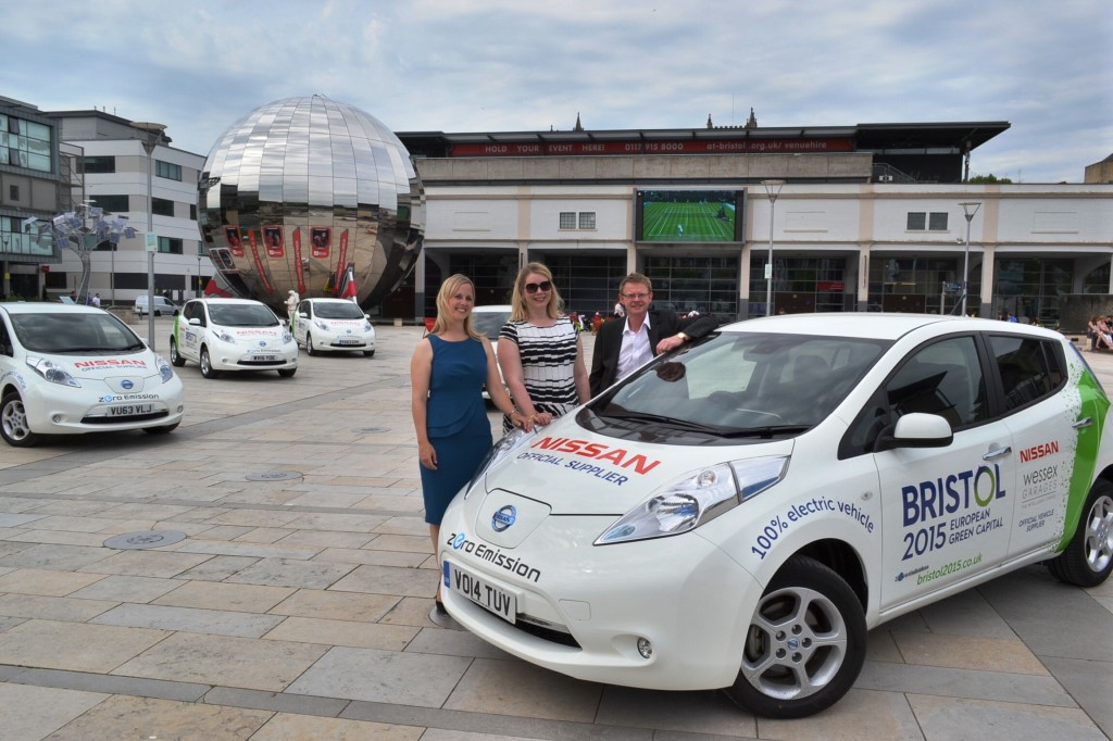 Bristol Green Capital takes charge of electric cars under motor dealership sponsorship deal