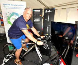 Paris here I come! Destination Bristol boss John Hirst joins Above & Beyond's cycle challenge team