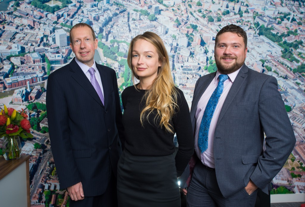 Trio of new arrivals bolsters Colliers International's South West office