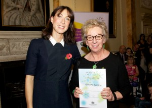 Charity work earns specialist law firm director top accolade at Downing Street reception