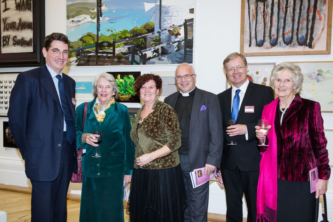 Smith & Williamson thanks loyal clients with private art evening at RWA