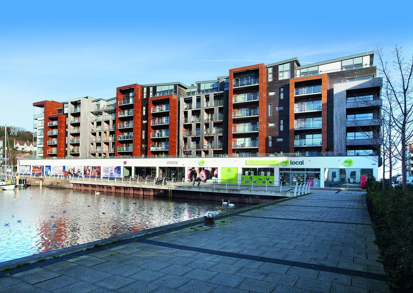 Showpiece Portishead Marina retail units come onto market ...
