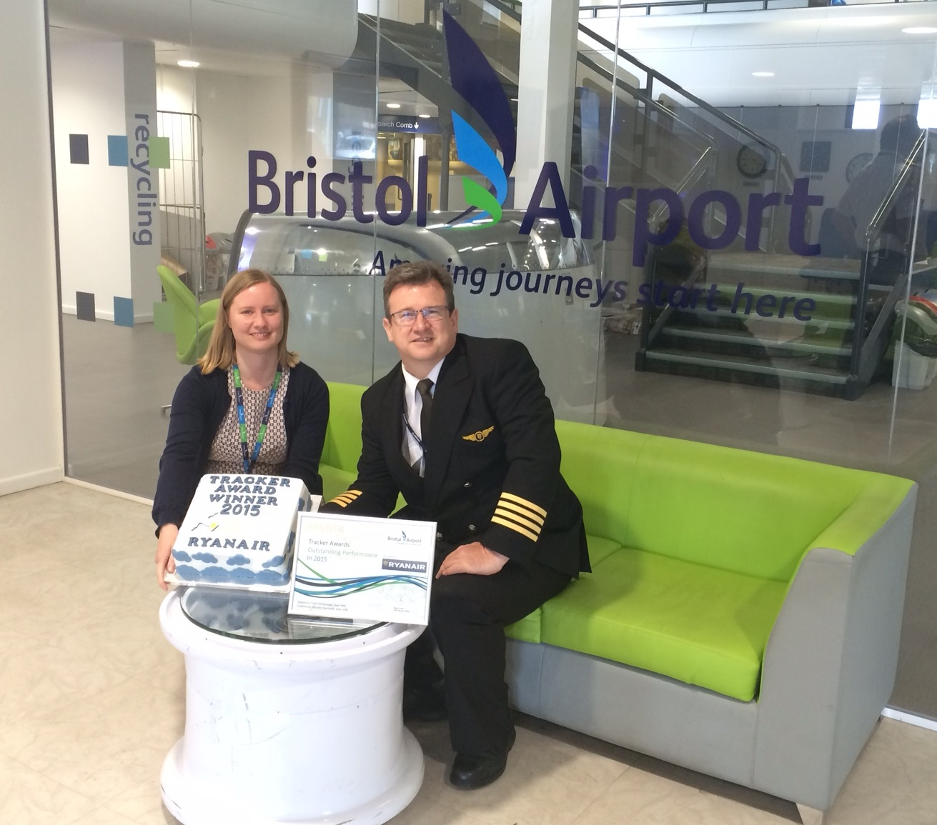 Ryanair lands Bristol Airport award for minimising its aircraft noise
