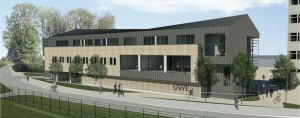 Work gets under way on new film and media studio building at UWE