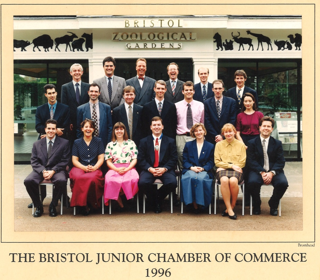 Rolling back the years: Former Junior Chamber members reunite for new team photo 20 years on