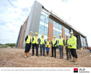 Construction of new head office for ALD Automotive shifts up a gear