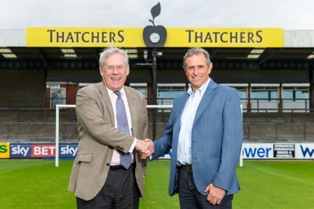 Thatchers makes another stand for Bristol sport – this time by boosting ties with Rovers