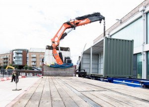 Converted shipping containers lift Bristol's burgeoning food scene