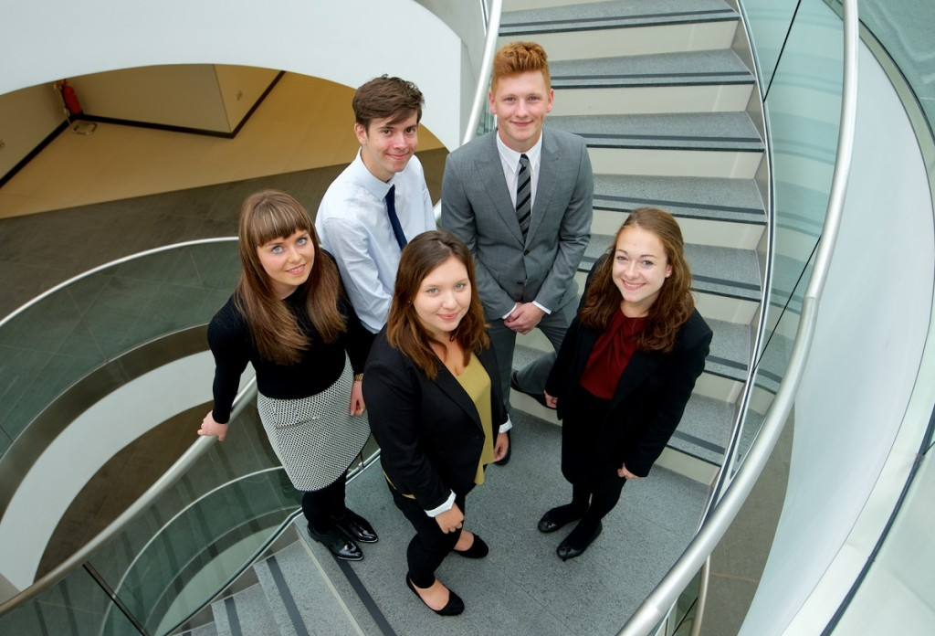 Burges Salmon takes five after helping to blaze a trail in new legal apprenticeship scheme