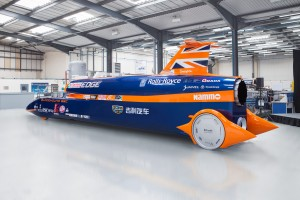 Bristol's Bloodhound supersonic car world record bid back on track, thanks to Chinese sponsorship deal