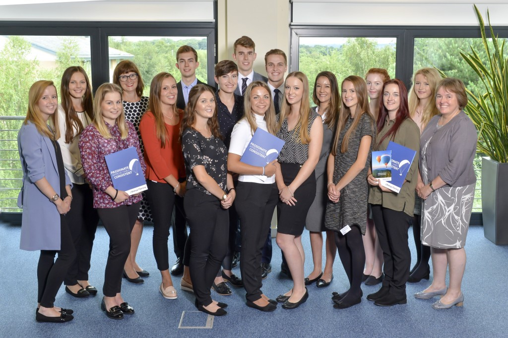 Record number of trainees join Bishop Fleming as it gears up for more growth