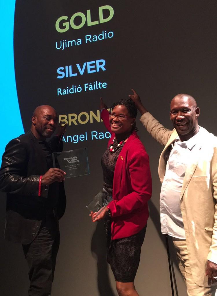 Prestigious national community radio award for Bristol's Ujima 98fm