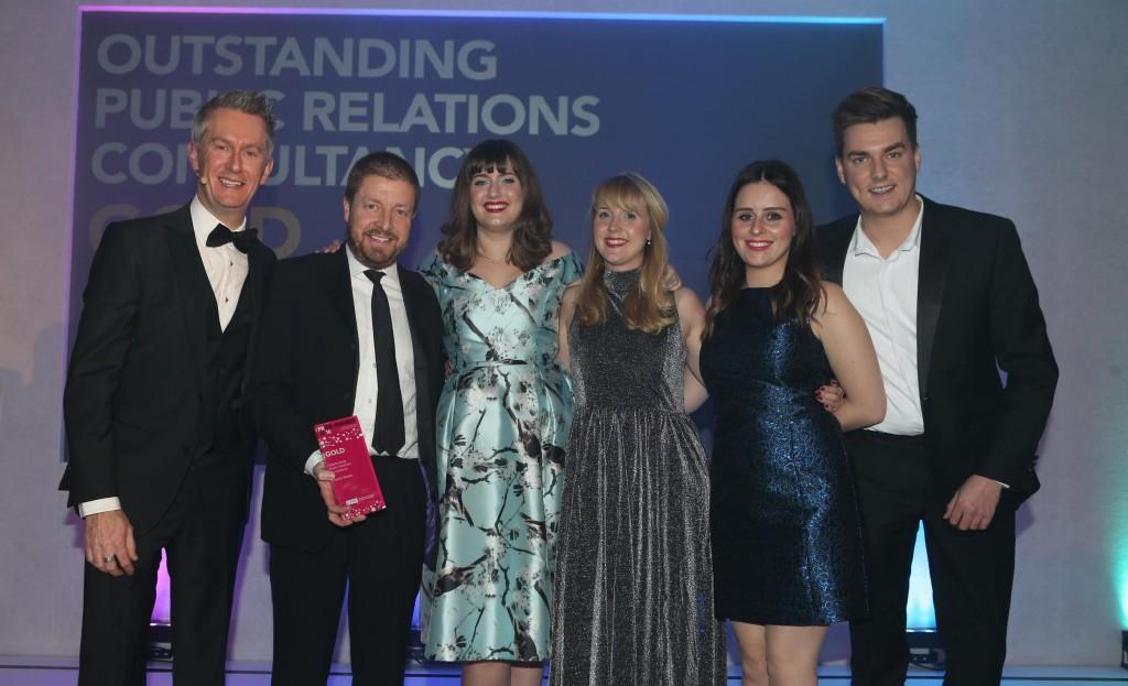 Inside Media sweeps the board at regional PR awards