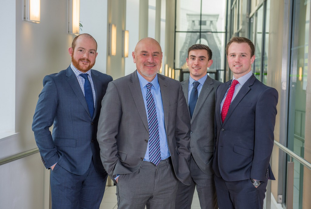 Home-grown talent recognised in trio of promotions at Colliers International's Bristol office