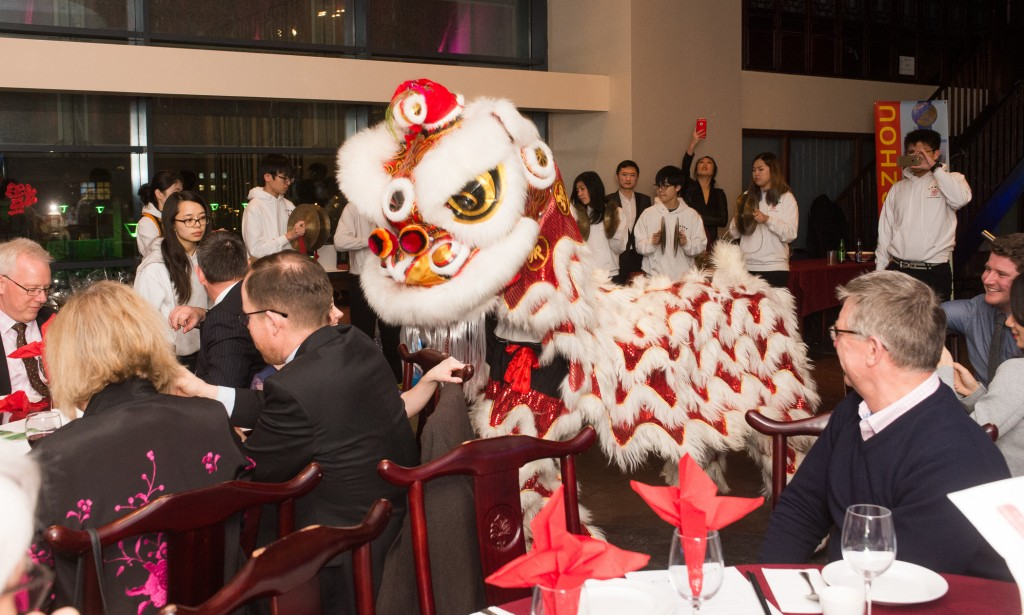 Trade links on the menu at Bristol's Chinese New Year banquet