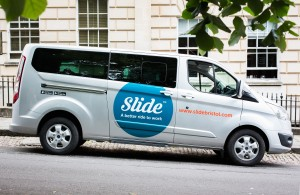 Growth at the double for Slide's fleet of minivans as more commuters get on board