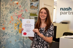 Royal Town Planning Institute chartered member status achieved by Bristol planner