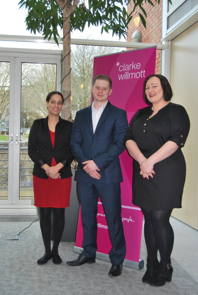 Clarke Willmott trainees take next steps on career ladder
