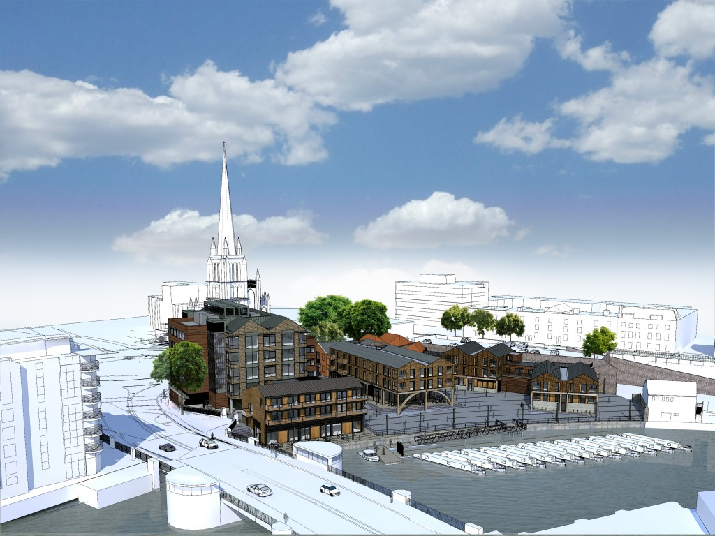 £30m redevelopment plan submitted for Bristol's last remaining waterfront site