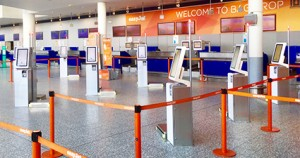 Self-service baggage check-in trialled at Bristol Airport as holiday season takes off
