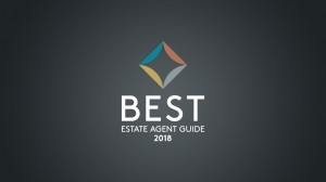 Brand identity for new Best Estate Agent Guide created by Bristol agency Workbrands