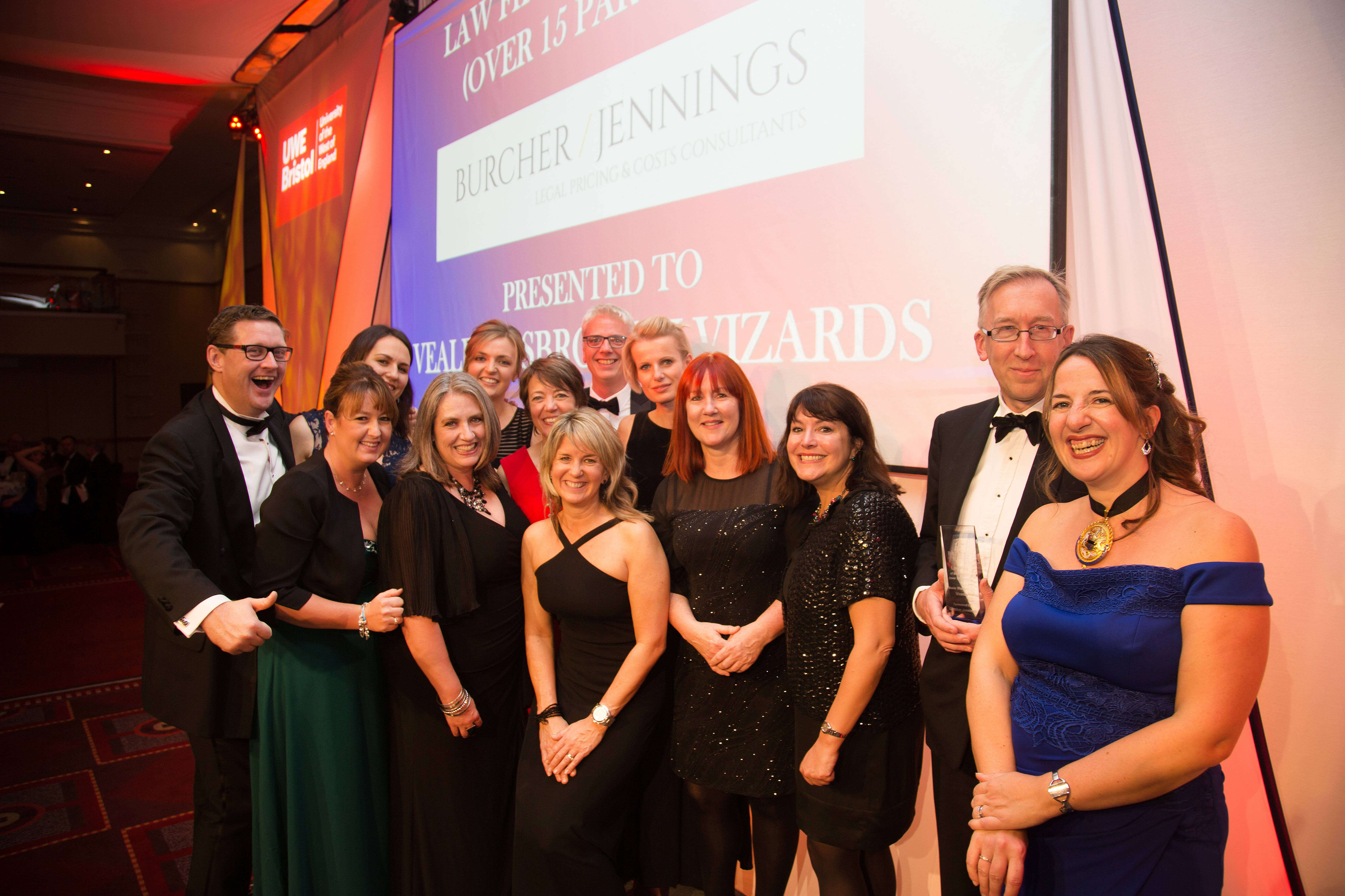 Bristol Law Society Annual Award winners say victory reflects their hard work and values