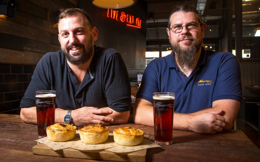 Locally brewed beer proves gem of a new ingredient for Pieminister