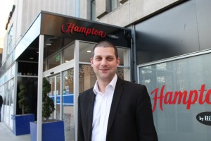 New general manager checks in to Bristol's Hampton by Hilton hotel