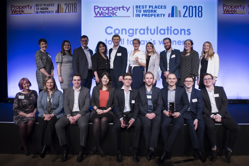 'Best Places to Work in Property' accolade for consultancy Carterwood