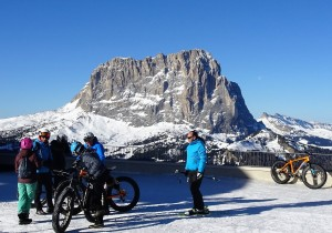 Swindon Business News Travel: Get on your 'fat bike' for a magical March ski trip to the Italian Dolomites