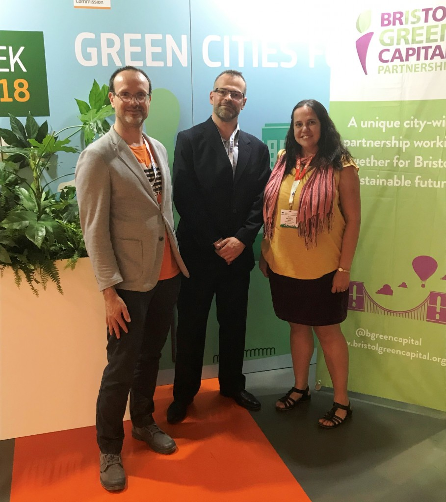 European Green Capital legacy starting to take effect, Bristol team tells major EU conference
