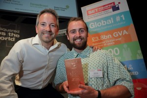 Fast-growing vertical farm tech firm's elevator pitch lands top prize