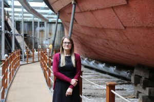 UK Women in Engineering recognition for SS Great Britain conservation engineer
