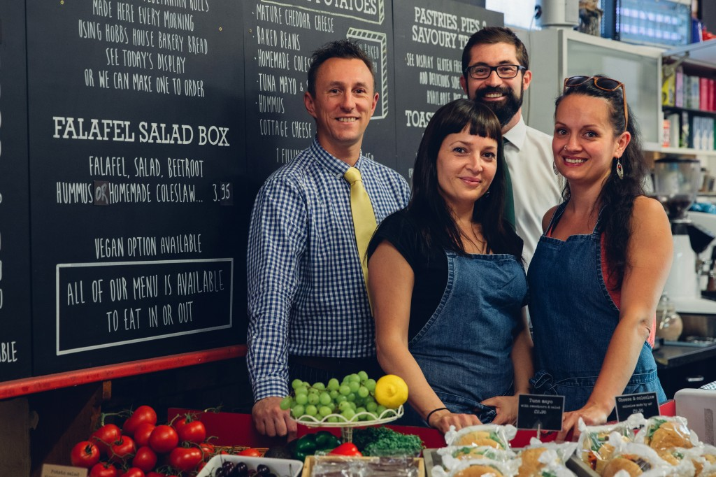 Meade King lawyers serve up advice to help enterprising duo take over veggie café