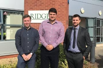 Trio of graduate appointments boost Ridge's Bristol office
