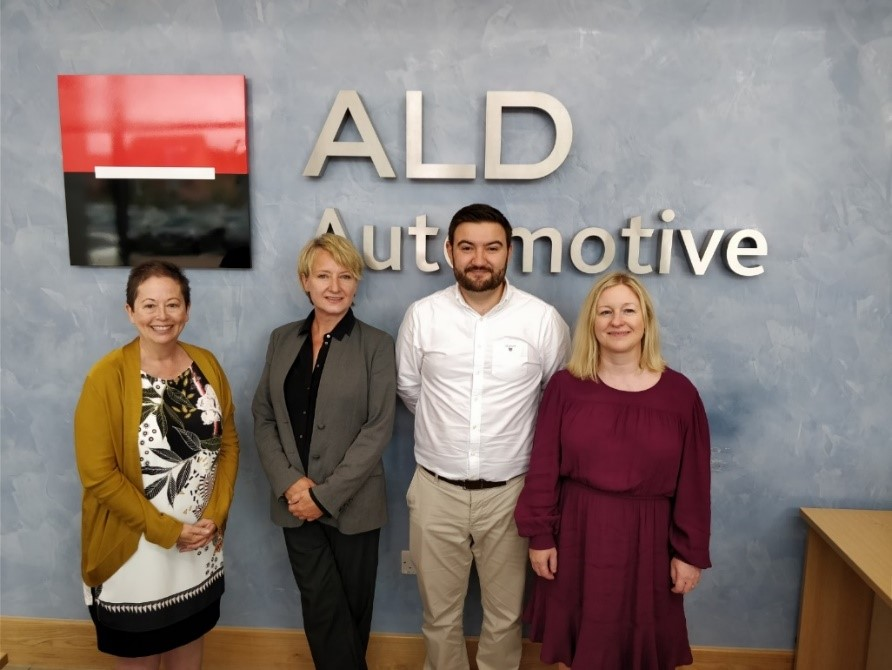 Women's Tech Hub gears up for growth after signing up ALD Automotive as first partner