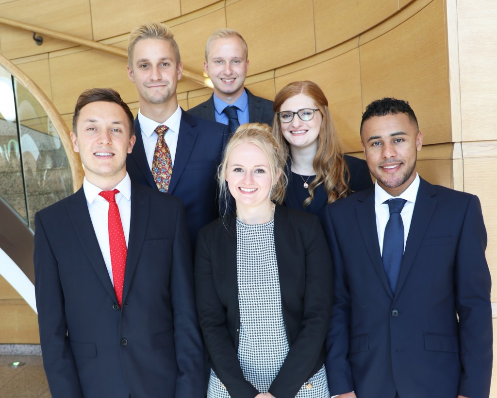 Latest intake of trainees arrives at Womble Bond Dickinson's Bristol office